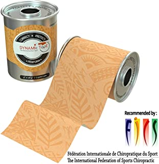 Dynamic Tape Beige Biomechanical, 3 inches by 16.4 feet, Therapeutic, Sports, Clinician Designed for Performance Fitness Athletes, Protect & Assist Motion, Injury Recovery, Hypoallergenic & Latex Free