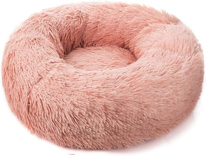 Cat Beds, Recommended Round Plush Bed Sales Warm Winter House Mat Sleep