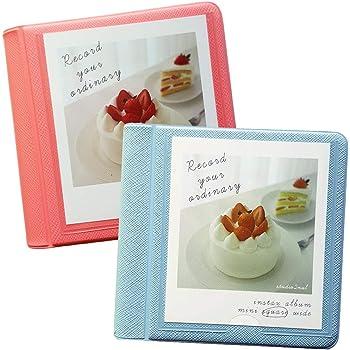 2NUL for Fujifilm Instax Square Instant Film Photo Album 29Pockets Set of 2