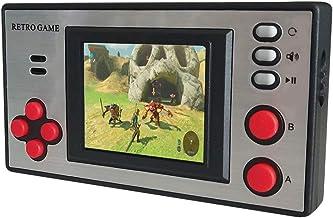 Console de jeu portable NBCP, lecteur de console de jeu vidéo rétro mini enfants avec 150 jeux FC classiques écran LCD por...