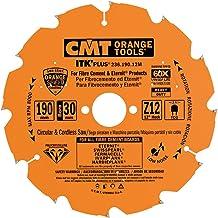 CMT Orange Tools 236.190.12M - Sierra circular en diamante para mat. abrasivos dp 190x2.1x30 z 12 con.