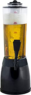Gadgy ® Dispensador de Cerveza | 3,6 L. Bebidas Drink Dispenser | Compartimiento de Hielo Separado | 53 cm