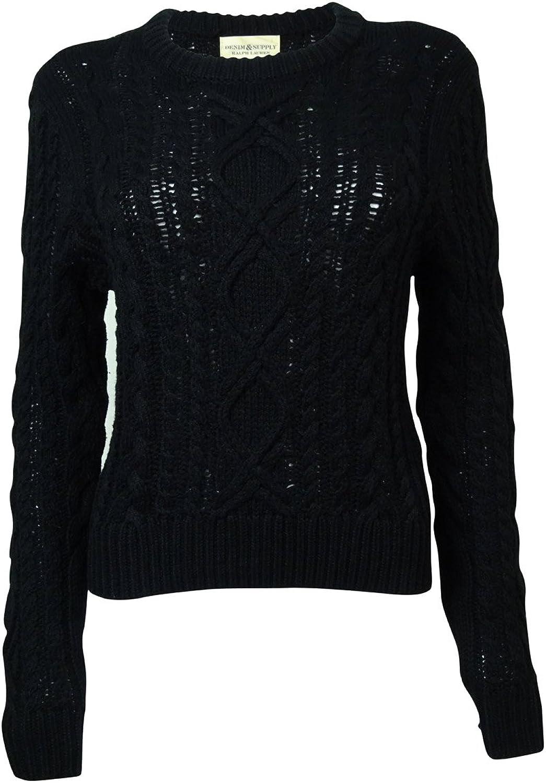 Denim & Supply Ralph Lauren Women's Medium Crewneck Sweater