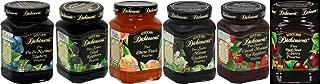 Dickinson's Preserves Variety Pack 10oz Glass Jar (Sampler Pack of 6 Different Flavors)