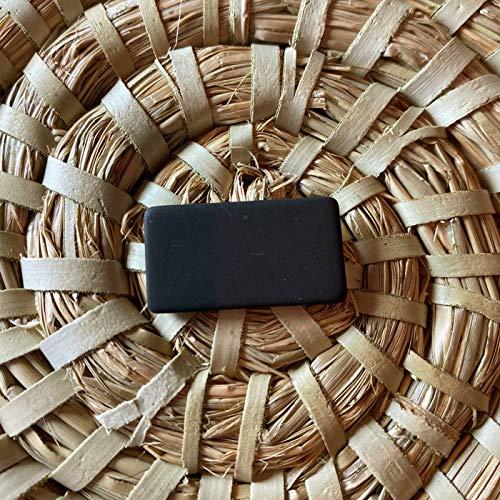 Shungite - Placas de protección para teléfonos móviles (30 x 15 mm, rectangulares, para repeler radiaciones de 4 g, 5 g, también populares para tabletas, iPad y ordenadores)
