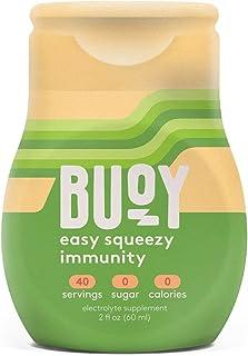 Buoy + Immunity | All Natural Electrolytes + Vitamins A, B, C, D, E + Zinc + Elderberry, Echinacea, Ginger Root | 40 Servi...
