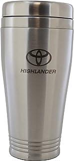 Au-Tomotive Gold, INC. Travel Mug 150 for Toyota Highlander (Silver)