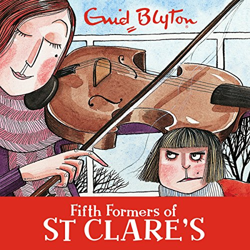 Fifth Formers of St Clare's cover art