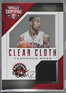Terrence Ross #4/299 (Basketball Card) 2014-15 Panini Totally Certified - Clear Cloth Jersey - Red #41