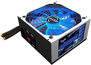 Mars Gaming MPZE750, Fuente PC 750W Modular, 80Plus Silver, PFC Activo, Blanco