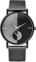 Yaida💞💞Womens Fashion Classic Gold Quartz Stainless Steel Wrist Watch