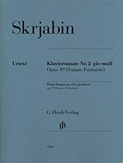 Best scriabin sonata 2 sheet music Reviews