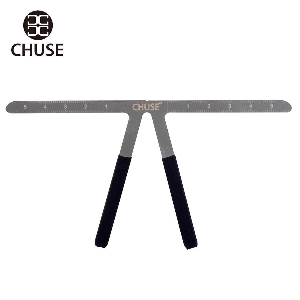 番目塩辛いスピリチュアル(チュース)Chuse アイブロウタトウー キャリパー 測定ツール