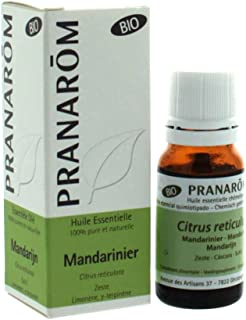 Mandarina Cáscara Aceite Esencial Bio 10 ml de Pranarom