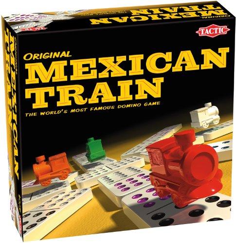 Tactic Mexican Train Bambini e Adulti Gioco di carte