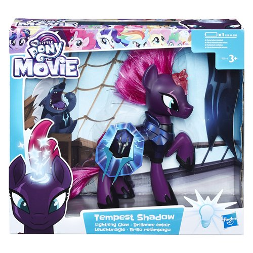 Hasbro My Little Pony E2514EU4 Toys Movie Leuchtmagie Tempest Shadow, Puppe, Mehrfarbig