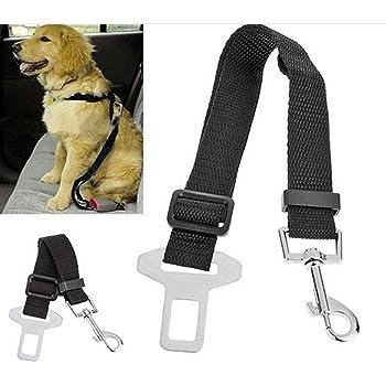 FDSHIP Dog Belt for Car (Black, 70-100 cm)
