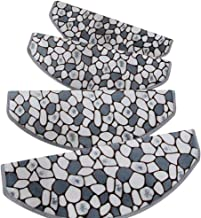 HAIPENG Self Adhesive Non Slip Stair Carpet Treads Pads Runner Rugs Thicken Nordic Style, 5 Sizes, 4 Colors (Color : C-65x...