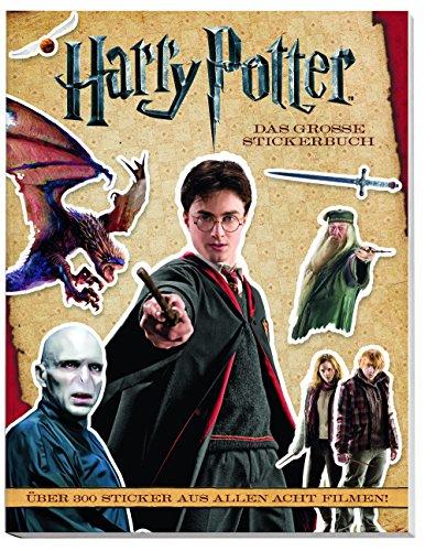 Harry Potter Stickerbuch: Über 300 Sticker aus allen 8 Filmen!