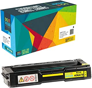 Do it Wiser Compatible Toner Cartridge Replacement for Ricoh Aficio SP C231N SP C231SF SP C232DN SP C232SF SP C242DN SP C242SF SP C310 SP C310A SP C311N SP C320DN - 406478 Yellow 6,000 Pages