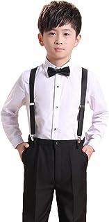 (AIMI)子供スーツ 男の子 フォーマル スーツ 4点セット ボーイズ キッズ スーツ 入園式 入学式 卒業式 発表会 子供服 演奏会 七五三 卒園式 結婚式 NT016