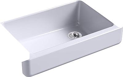Kohler K-5826-GRL Whitehaven Kitchen Sink, LavenderGrey