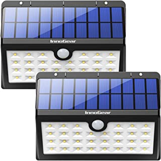 InnoGear Solar Lights Outdoor, 30 LED Motion Sensor Security Night Light with Auto on and Off for Front Door Back Yard Driveway Garden Patio Garage, Pack of 2