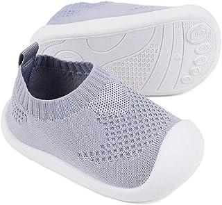 Bebé Primeros Pasos Zapatos 1-4 años Niños Zapatos Niños Niñas Infante Suave Suela Antideslizante Transpirable Zapatillas ...