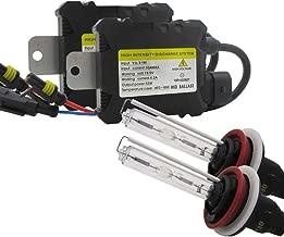 KunmniZ 2pcs 10000k H7 HID Xenon Headlight Conversion Bulbs Kit 55W