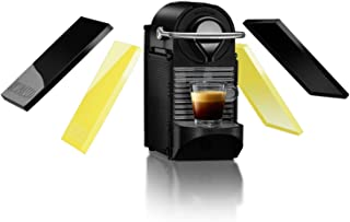 Krups Nespresso - Cafetera de cápsulas, automática, 1260 W, 0.8 L, negro/amarillo