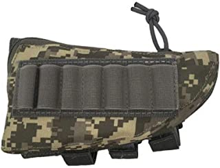 Baifeng Tactique Cartouche Fusil Fusil Stock Munitions Portable Pochette Coque - Acu Camouflage, one size