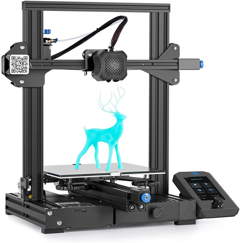 Comgrow,stampante 3d creality ender-3 v2 con scheda madre silenziosa US1-Ender3 V2-FBA