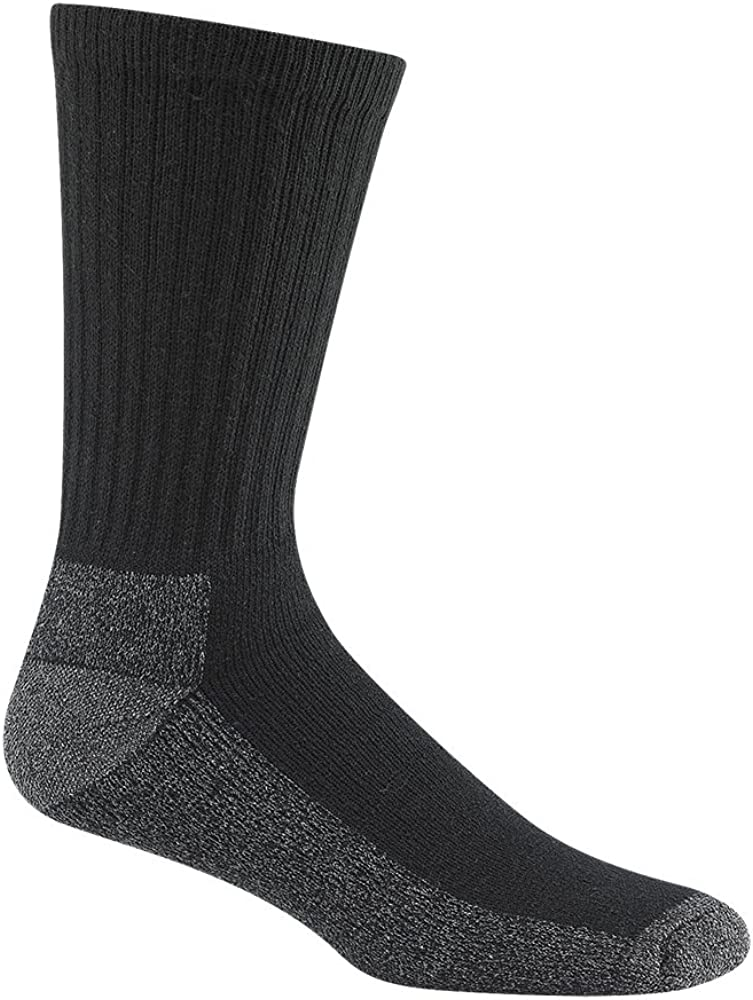 Limited time cheap sale Wigwam Fixed price for sale Men's At Work 3-Pack X-Large Crew Black Socks