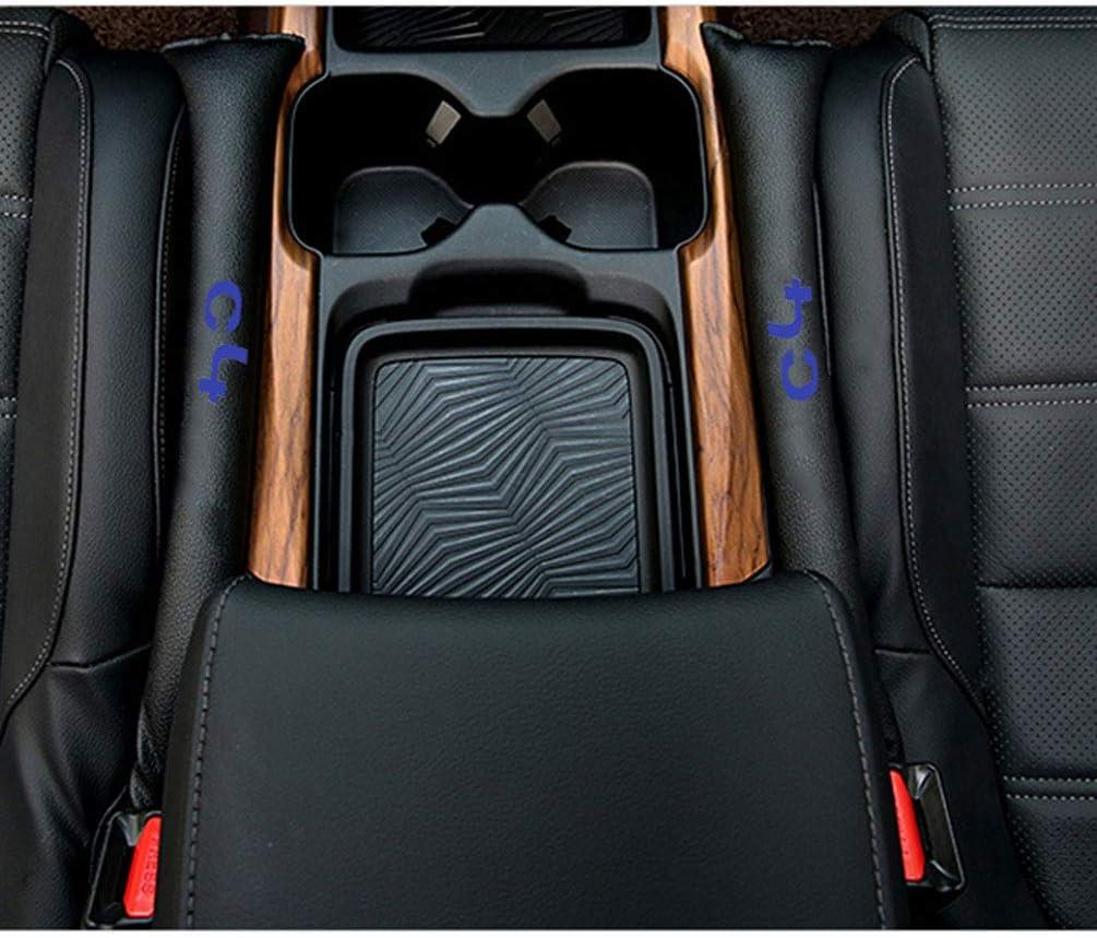 YOWAX Riempitivi in Ecopelle Spacer Filler Slot Plug Car Seat Gap Pad per Citroen C4 Accessori Auto 2 Pezzi