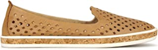 Airflex Louis Womens Leather Casual Camel 10