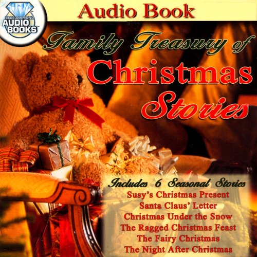 Family Treasury of Christmas Stories audiobook cover art