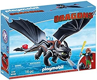 Playmobil DreamWorks Dragons Hiccup & Toothless Building Toy - (4 - 12 Years)