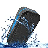ECANDY Tragbare Bluetooth Lautsprecher Wasserdicht Stofest Bluetooth Lautsprecher Boombox mit 1800...