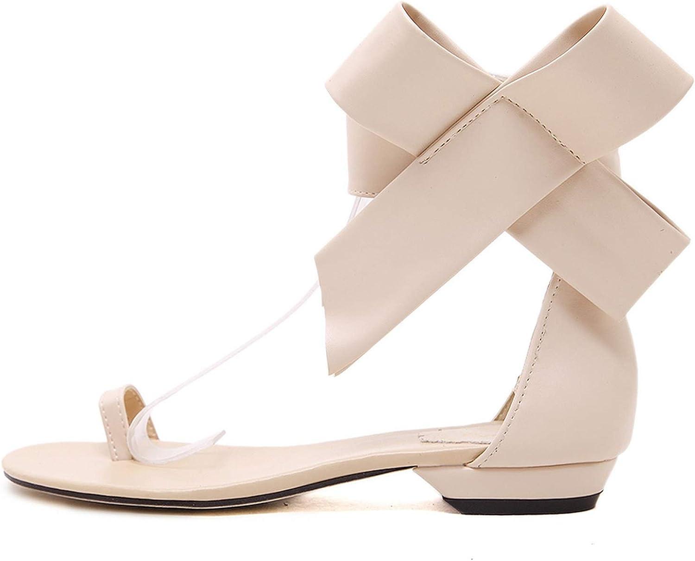 Woman Sandals Casual Retro Bow Big Bowtie Flats Flats Women Sandalias women 2018