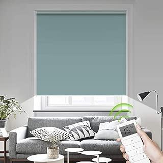 motorized window shades for skylights
