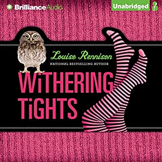 Withering Tights audiobook cover art
