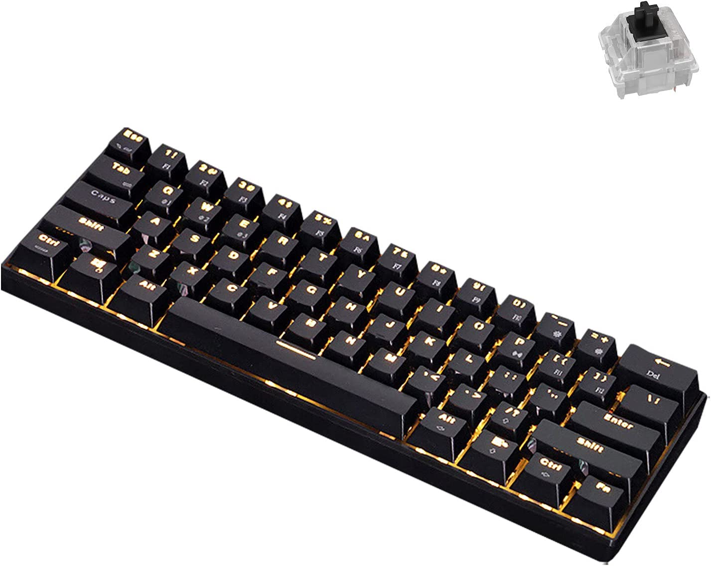 KOqwez33 mart Portable Advanced Keyboard Our shop OFFers the best service Notebook Computer RK61 for