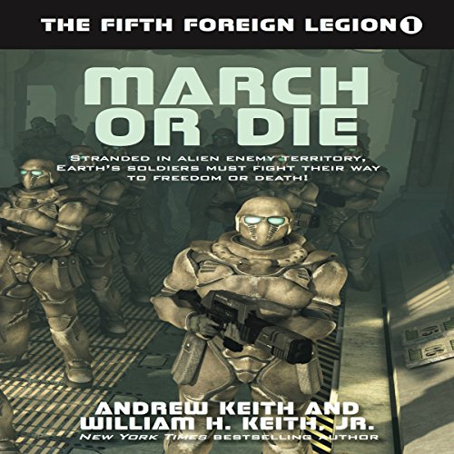 March or Die audiobook cover art