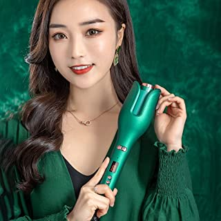 TimiTech curl Auto Hair Curling Wand With Ceramic Ionic Barrel & Smart Anti-Stuck Sensor, Professional Hair Curler Styling...