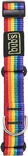 bub's Collar Especial Galgo - Collar para Perro Mediano/pequeño. para Todo Tipo de Razas de Perro y Especialmente para Galgos (Comprobar tamaño: Cuello 22 a 35). Color Rainbow.