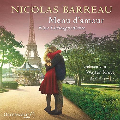 Menu d'amour audiobook cover art