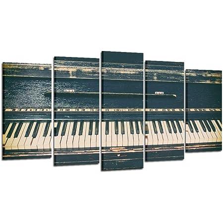Piano MUSIC CANVAS PIANO Piano Melody Picture on Stretcher A00594 Cheap