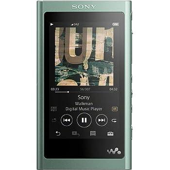 ソニー ウォークマン Aシリーズ 16GB NW-A55 : Bluetooth microSD対応 ハイレゾ対応 最大45時間連続再生 2018年モデル ホライズングリーン NW-A55 G