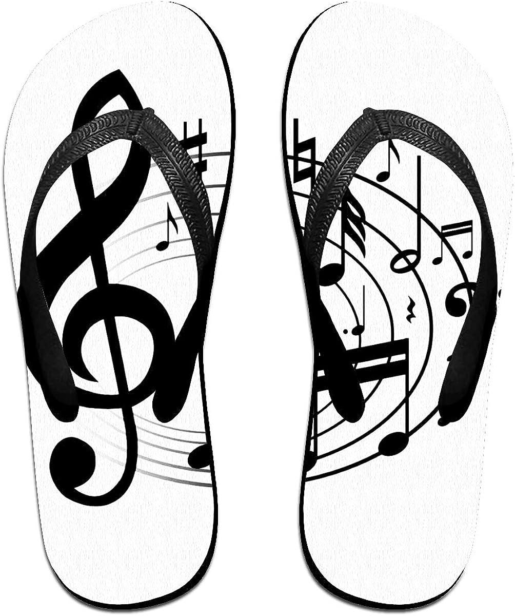 JF-X Ciabatte infradito antiscivolo con note musicali