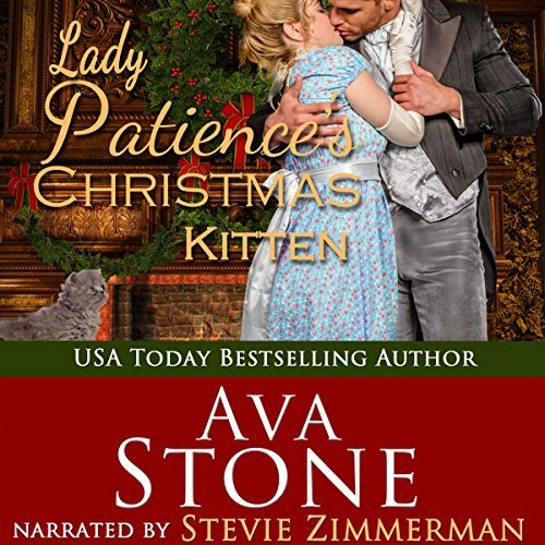 Lady Patience's Christmas Kitten audiobook cover art